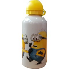 Water bottle Minions aluminium