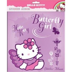 STICKER ALBUM HELLO KITTY