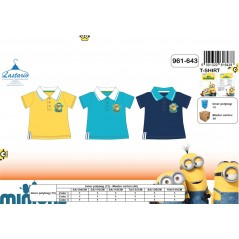 Short-Sleeved Polo Shirt Minions