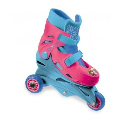 Frozen Tri-Inline - Roller-skating The snow queen adjustable 2 or 3 wheels