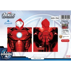 Poncho bath hooded Avengers - 820-794
