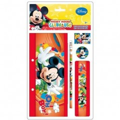 Mickey Disney - Set de papeterie Mickey 5 pièces - as8176