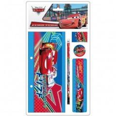 Cars Disney - Set de papeterie Cars 5 pièces - as8174