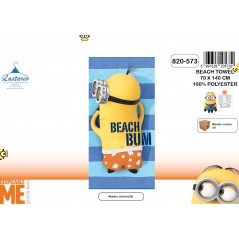 Beach towel Minions - 820-573