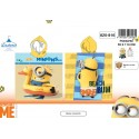 Poncho bath hooded Minions - 820-816