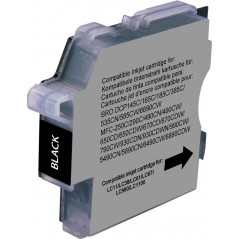 Cartridge compatible Brother - Black -lc980/1100BK