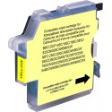 Cartouche compatible Brother -Jaune- 990cw//1100j