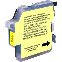 Cartridge compatible Brother -Yellow - 990cw//1100j