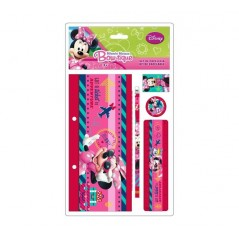 Minnie Disney - Set de papeterie Minnie 5 pièces - as8098