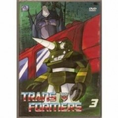DVD - TRANSFORMERS VOLUME 3