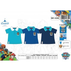 Polo Manches Courtes Paw Patrol