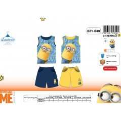 Set Tank Top + Shorts Minions