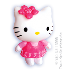 Personnage.Gonflable Hello Kitty
