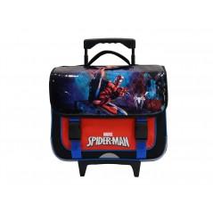 School Bag Trolley Spiderman