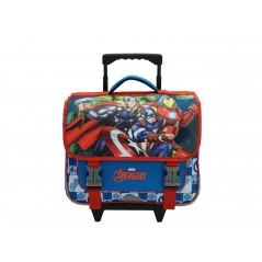 School Bag Trolley Avengers
