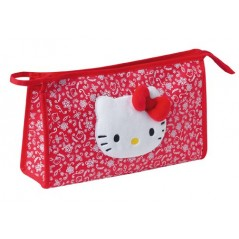 TROUSSE DE TOILETTE ROUGE, HELLO KITTY