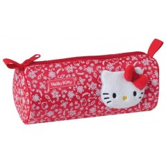 KIT DE LÁPIZ ROJO HELLO KITTY