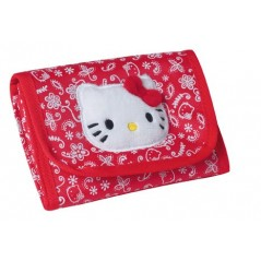 PORTE MONNAIE ROUGE HELLO KITTY