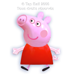 CHARACTER INFLATABLE PEPPA PIG