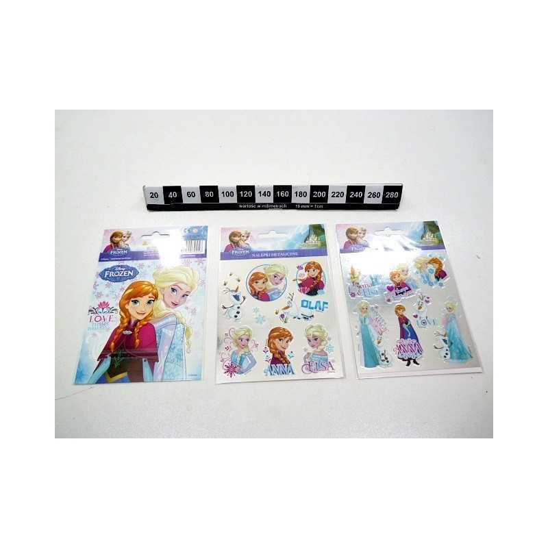 Planche Stickers La Reine des Neiges