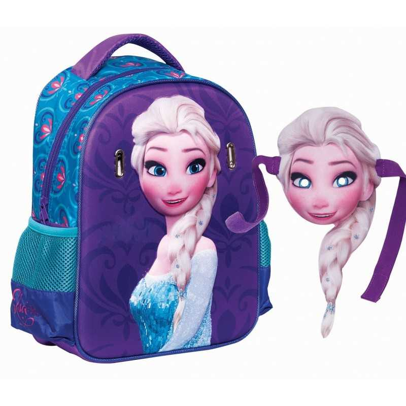 Backpack The Snow Queen mask + built-in