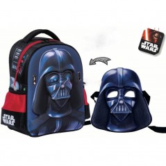 Backpack Star Wars mask + built-in