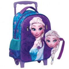 Backpack trolley The Snow Queen mask + built-in