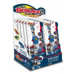 Beyblade Metal Fusion disc launcher with 4 discs