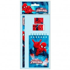 Stationery Set 4 pieces Spiderman