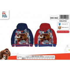 Sweat Secret Life Of Pets hooded