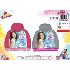 Sweat Soy Luna Disney à capuche