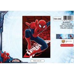 Plaid polaire Spiderman -720-246