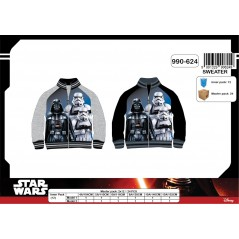 Sweat Zippé Star Wars