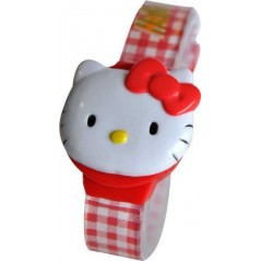 Hello Kitty Digital Bracelet Plastic Watch - zr20142