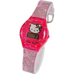 Hallo kitty digital armband kunststoff uhr.