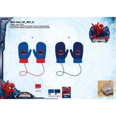 Gants Mitten Spiderman