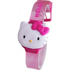 Hello Kitty pulsera digital de plástico reloj.