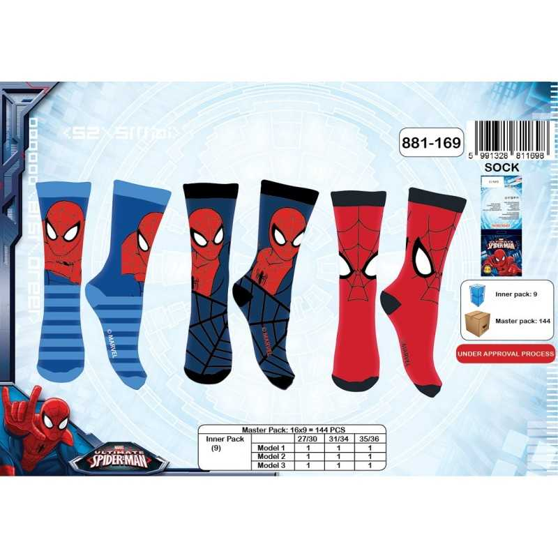 Chaussettes Spiderman