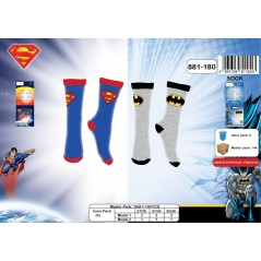 Chaussettes Superman VS Batman