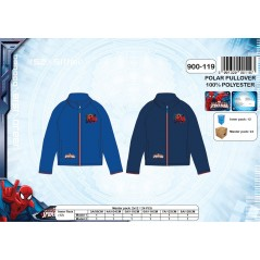 Fleece Sweatshirt Spiderman