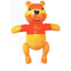 Character inflatable Winnie the pooh, height 50 cm