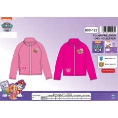 Fleece sweatshirt Paw Patrol girl