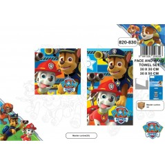 Set of 2 towels, Paw Patrol