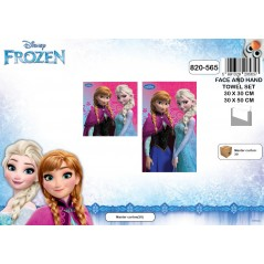 Set de 2 serviettes Frozen Disney