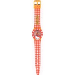 RELOJ HELLO KITTY APPLE ANALÓGICO