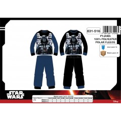 Pyjama polaire long  Star Wars - 4 à 12 ans