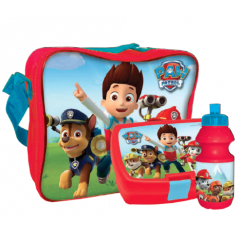 Cooler bag Paw Patrol with box, snack and water bottle assorted