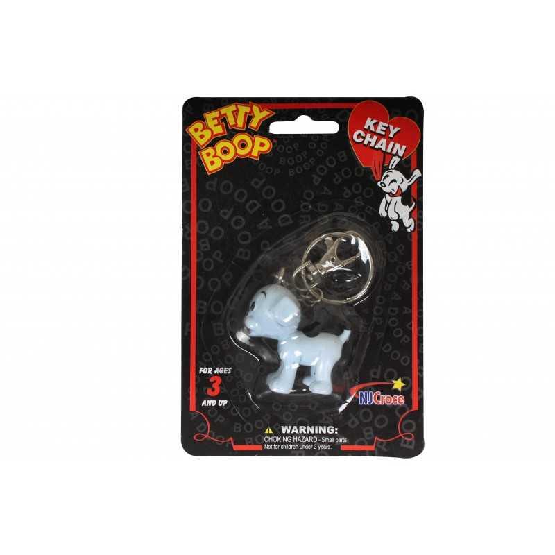 Porte clés Betty Boop chien