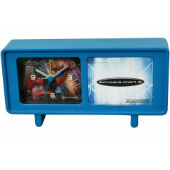 Alarm Clock Spiderman Blue