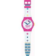 Gran reloj Hello Kitty con forma de reloj H: 90 cm.